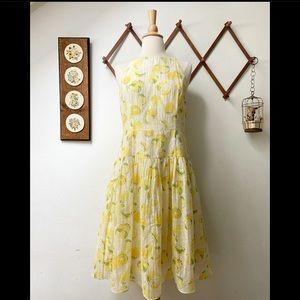 Ann Taylor • Lemon Drop Sun Dress